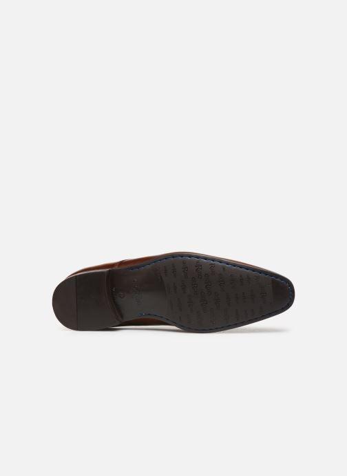 Chaussures à lacets Giorgio1958 GIALLO Marron vue haut