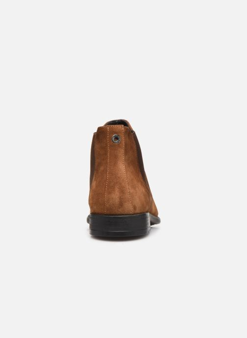 Ankle boots Giorgio1958 GASTONE Brown view from the right