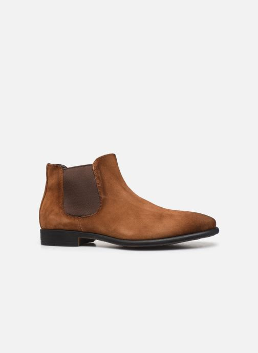 Ankle boots Giorgio1958 GASTONE Brown back view