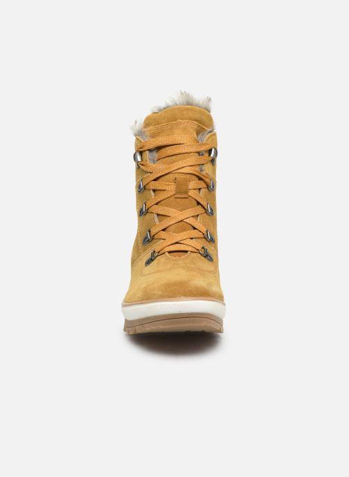 Botines  Jana shoes SAFRAN Amarillo vista del modelo