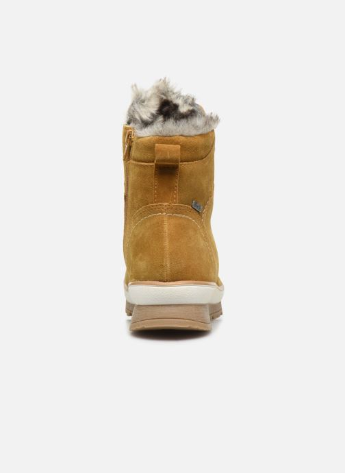 Botines  Jana shoes SAFRAN Amarillo vista lateral derecha