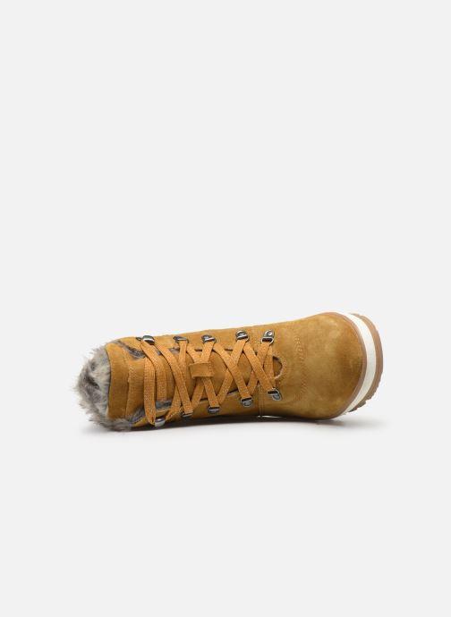 Botines  Jana shoes SAFRAN Amarillo vista lateral izquierda