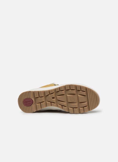 Botines  Jana shoes SAFRAN Amarillo vista de arriba