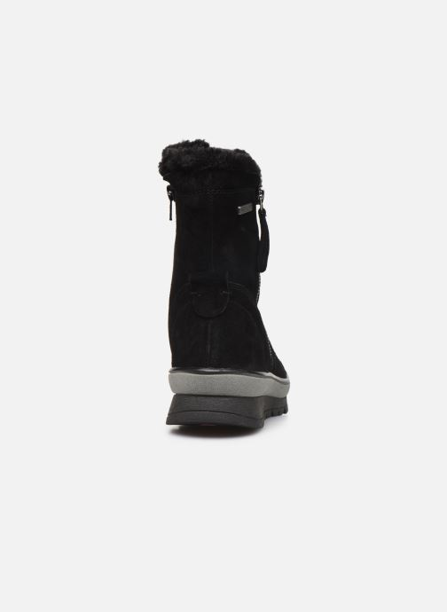 Ankle boots Jana shoes RAMIA Black view from the right