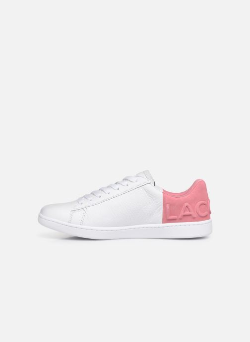 Baskets Lacoste Carnaby Evo 419 2 SFA Blanc vue face