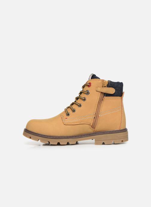 Boots en enkellaarsjes Levi's Forrest Bruin voorkant