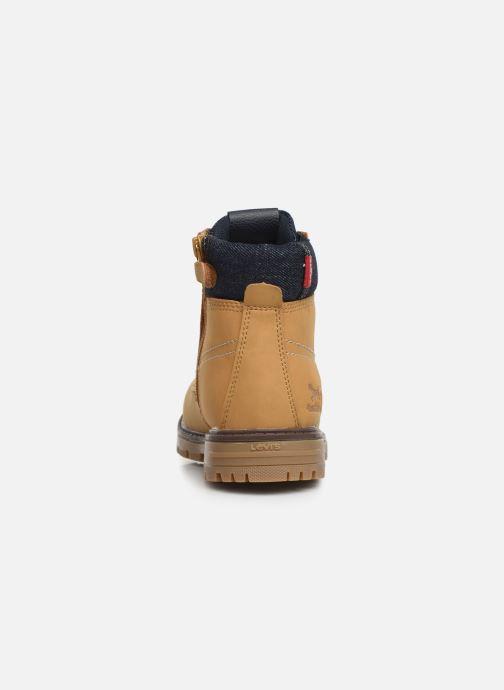 Bottines et boots Levi's Forrest Marron vue droite
