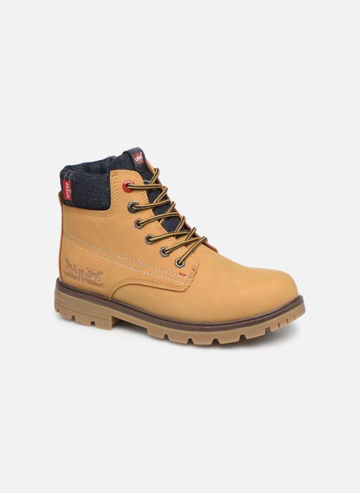 Boots en enkellaarsjes Levi's Forrest Bruin detail