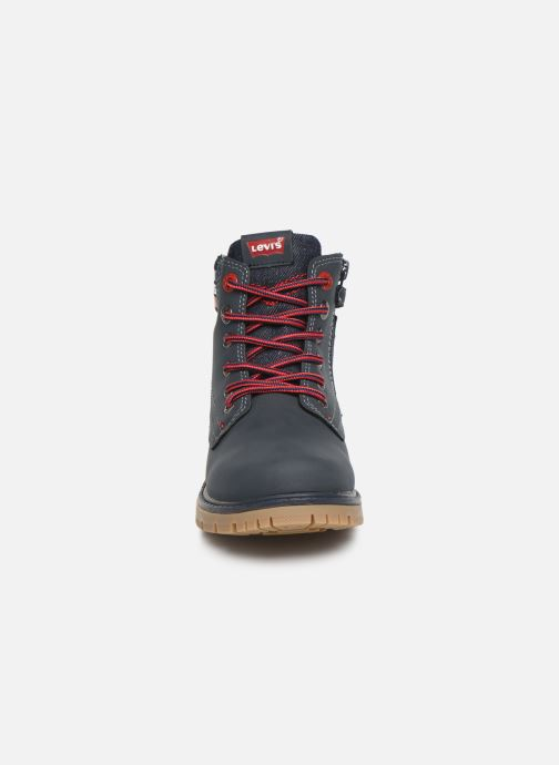 Bottines et boots Levi's Forrest Bleu vue portées chaussures