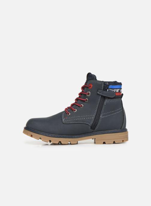 Bottines et boots Levi's Forrest Bleu vue face