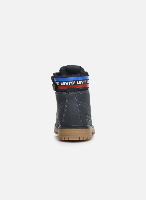 Bottines et boots Levi's Forrest Bleu vue droite