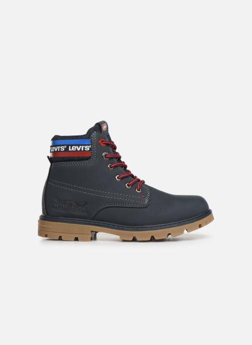 Bottines et boots Levi's Forrest Bleu vue derrière