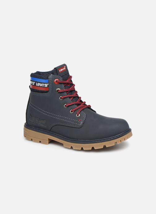 Bottines et boots Levi's Forrest Bleu vue détail/paire