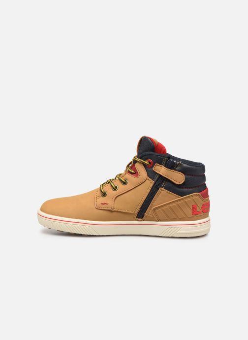 Sneaker Levi's New Portland braun ansicht von vorne