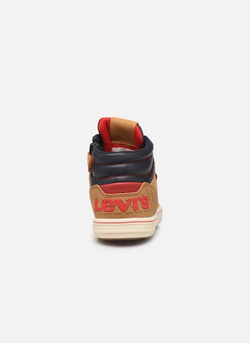 Sneaker Levi's New Portland braun ansicht von rechts