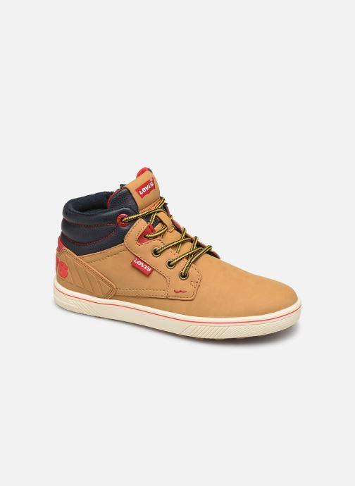 Sneaker Levi's New Portland braun detaillierte ansicht/modell