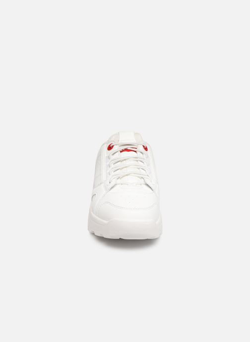 Sneaker Levi's Soho weiß schuhe getragen
