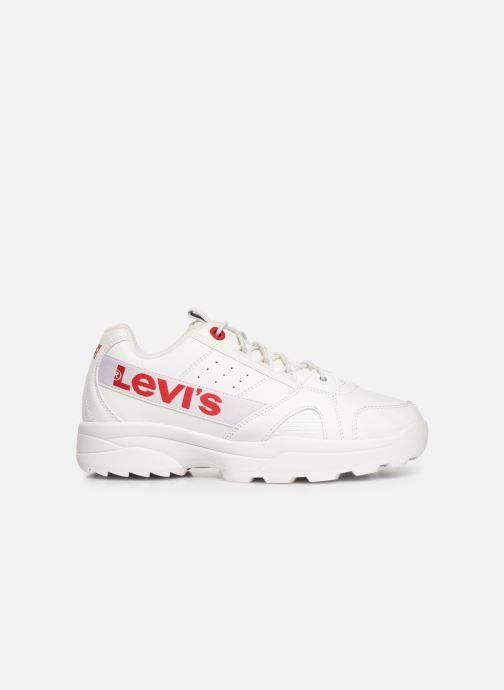 Sneakers Levi's Soho Wit achterkant