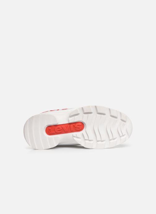 Sneakers Levi's Soho Bianco immagine dall'alto