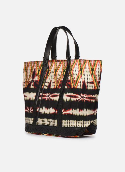 Bolsos de mano Vanessa Bruno CABAS TRESSAGE Multicolor vista lateral derecha
