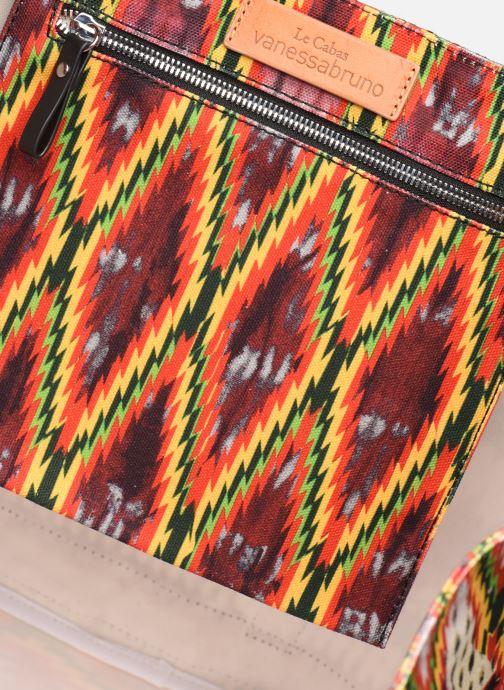 Bolsos de mano Vanessa Bruno CABAS TRESSAGE Multicolor vistra trasera