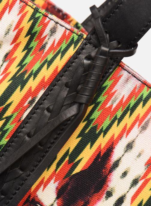 Bolsos de mano Vanessa Bruno CABAS TRESSAGE Multicolor vista lateral izquierda