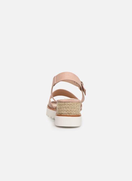 Sandales et nu-pieds MTNG 50054 Vaque Beige vue droite