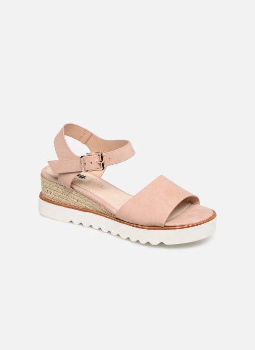 Sandales et nu-pieds MTNG 50054 Vaque Beige vue détail/paire