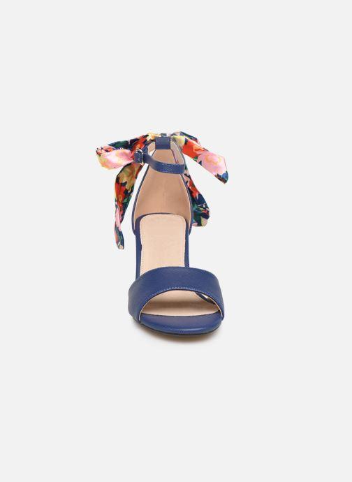 Sandales et nu-pieds MTNG 50418 Bleu vue portées chaussures