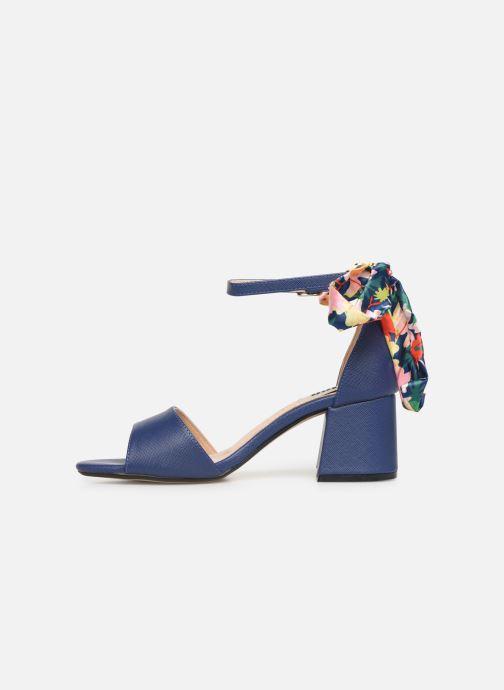 Sandales et nu-pieds MTNG 50418 Bleu vue face