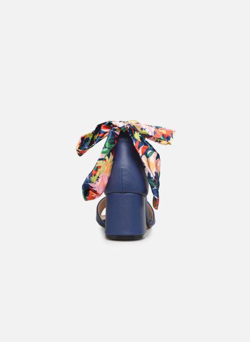 Sandales et nu-pieds MTNG 50418 Bleu vue droite