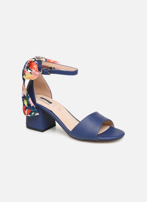 Sandales et nu-pieds MTNG 50418 Bleu vue détail/paire