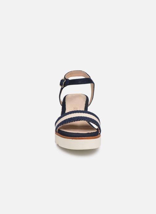 Espadrilles MTNG 50526 Bleu vue portées chaussures