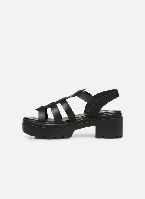 Sandales et nu-pieds MTNG 50696 Noir vue face