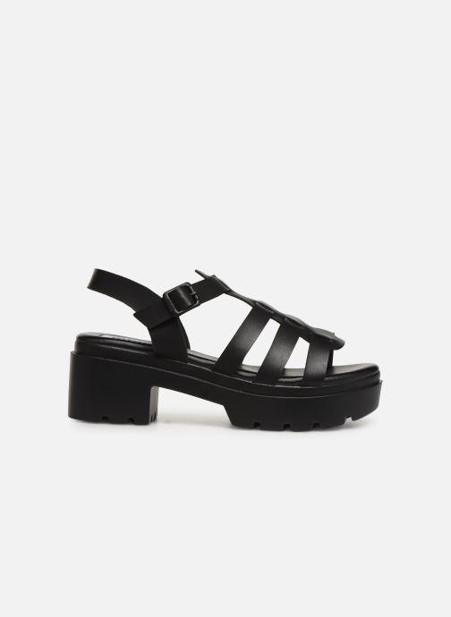 Sandales et nu-pieds MTNG 50696 Noir vue derrière
