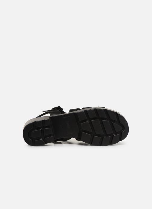 Sandales et nu-pieds MTNG 50696 Noir vue haut