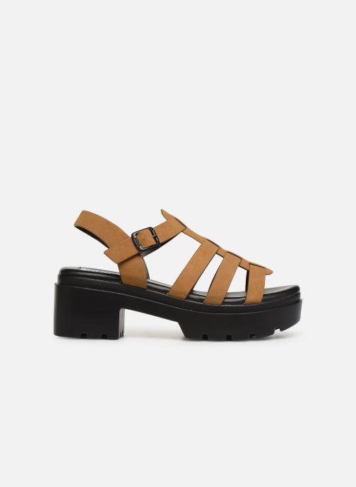 Sandales et nu-pieds MTNG 50696 Marron vue derrière