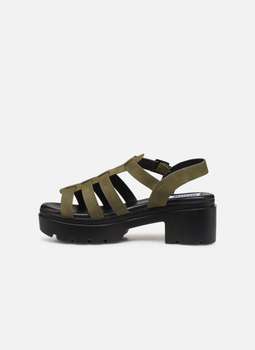 Sandales et nu-pieds MTNG 50696 Vert vue face