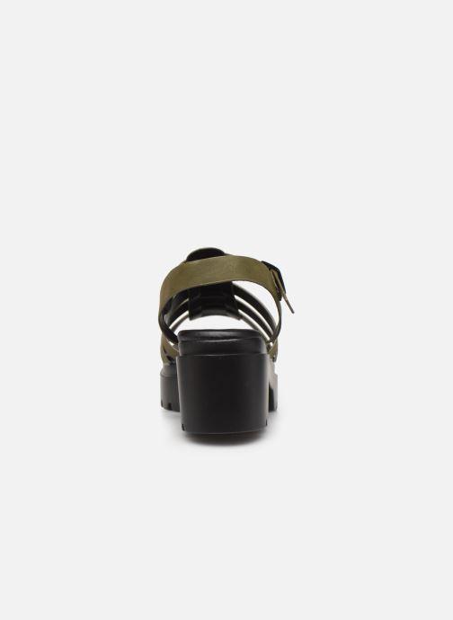 Sandales et nu-pieds MTNG 50696 Vert vue droite
