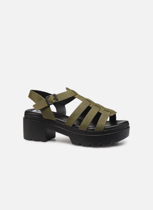 Sandales et nu-pieds MTNG 50696 Vert vue derrière