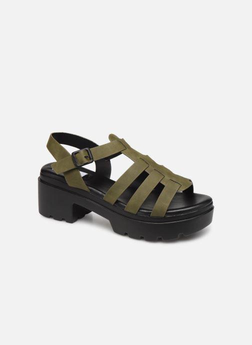 Sandales et nu-pieds MTNG 50696 Vert vue détail/paire