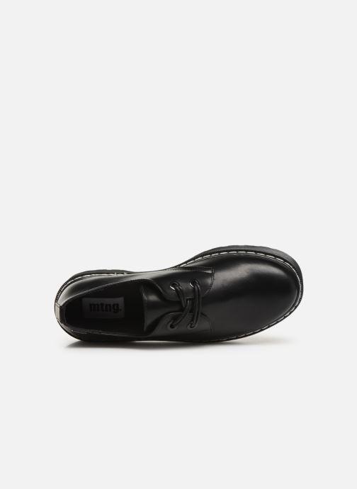 Chaussures à lacets MTNG 50713 Noir vue gauche