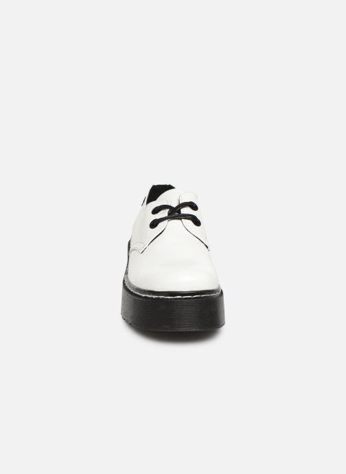 Schnürschuhe MTNG 50713 weiß schuhe getragen