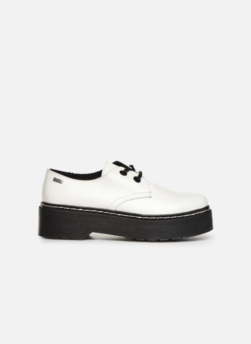 Zapatos con cordones MTNG 50713 Blanco vistra trasera