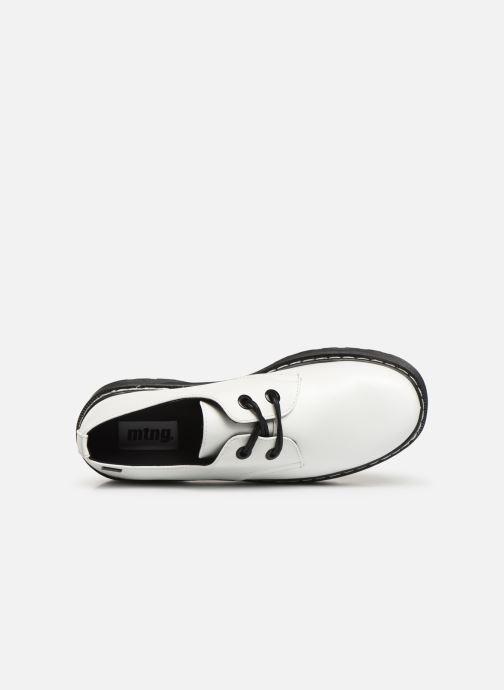 Zapatos con cordones MTNG 50713 Blanco vista lateral izquierda