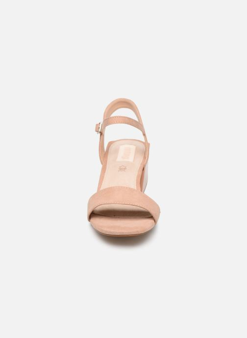 Sandali e scarpe aperte MTNG 50737 Beige modello indossato