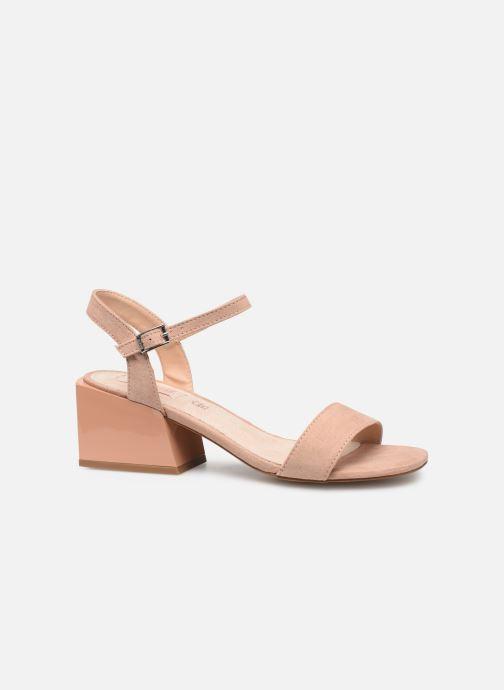 Sandales et nu-pieds MTNG 50737 Beige vue derrière