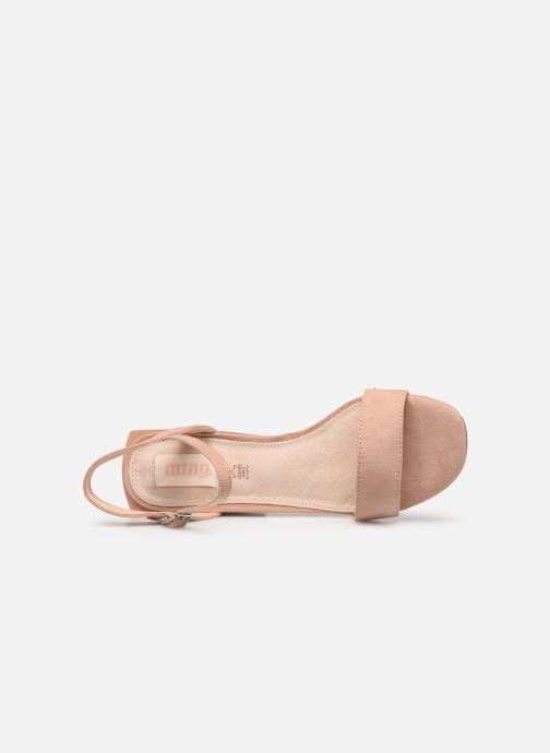 Sandales et nu-pieds MTNG 50737 Beige vue gauche