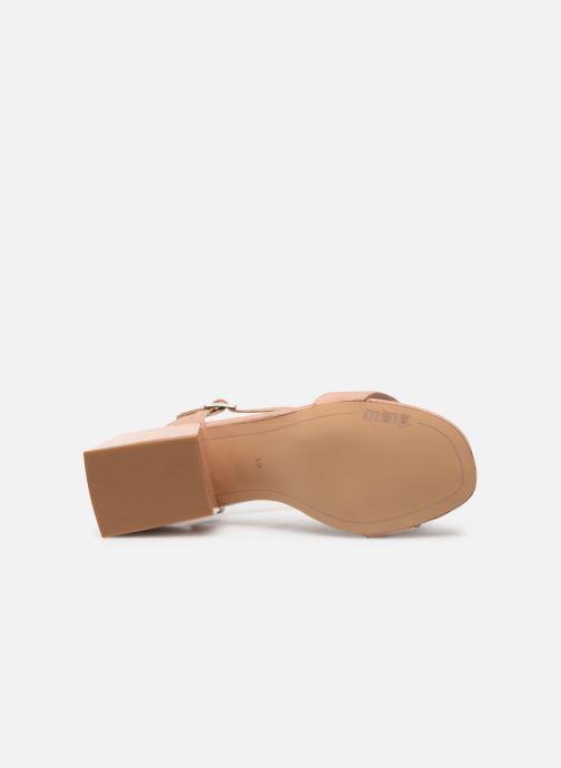 Sandales et nu-pieds MTNG 50737 Beige vue haut