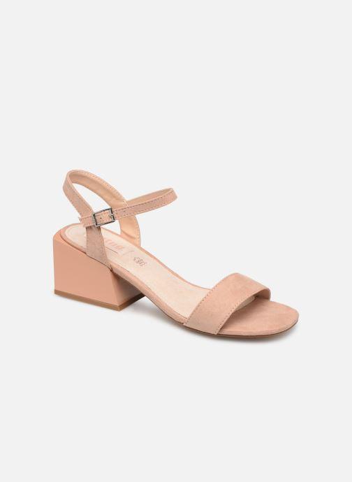 Sandales et nu-pieds MTNG 50737 Beige vue détail/paire